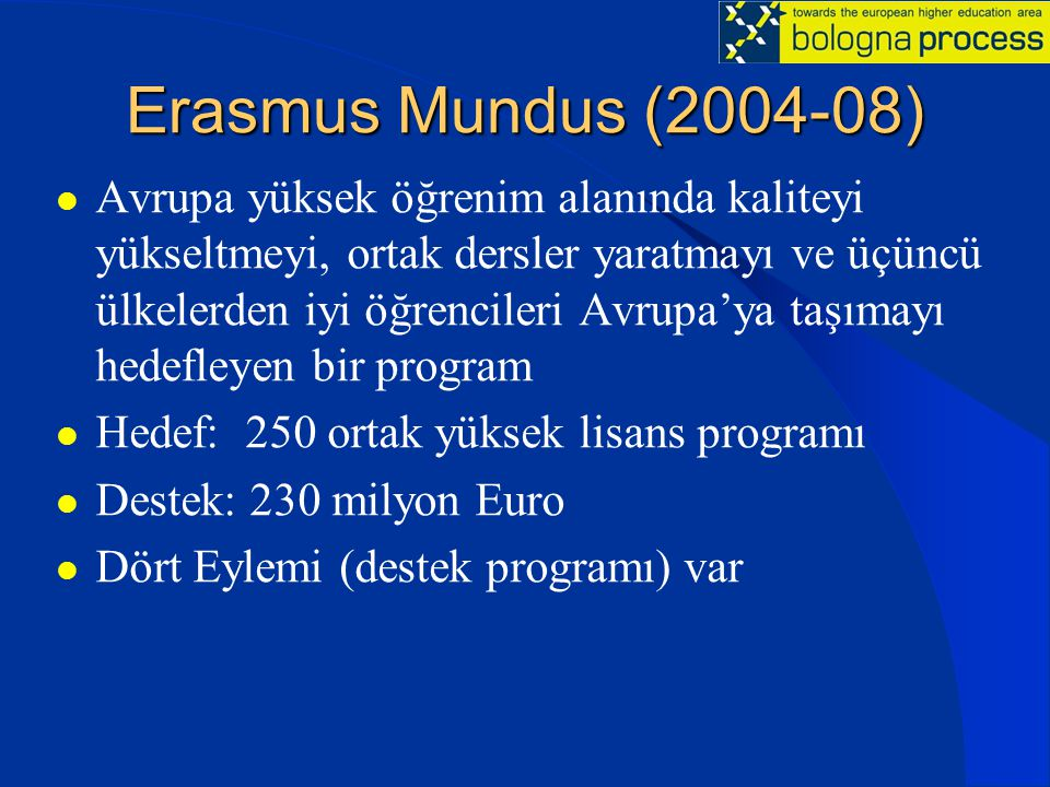 Erasmus Mundus (2004-08)