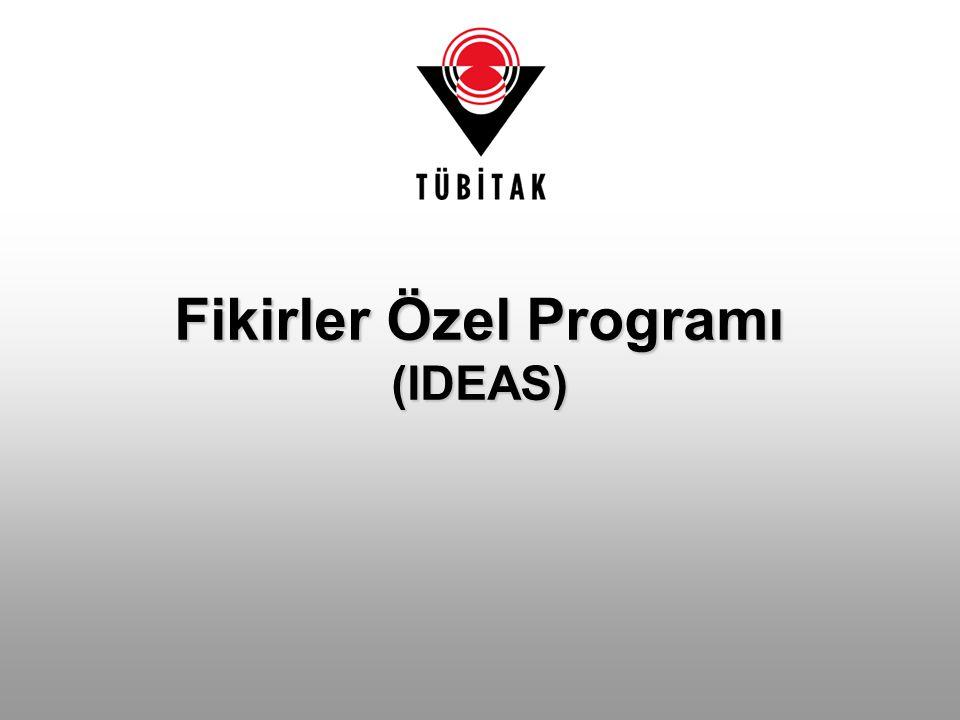 Fikirler Özel Programı (IDEAS)