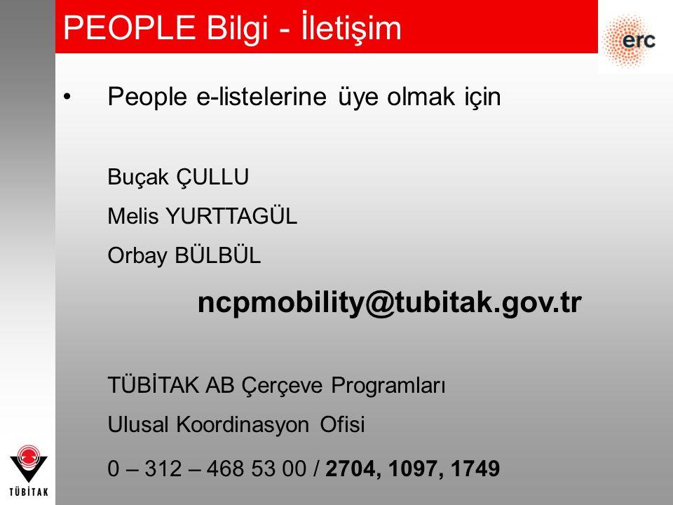 PEOPLE Bilgi - İletişim