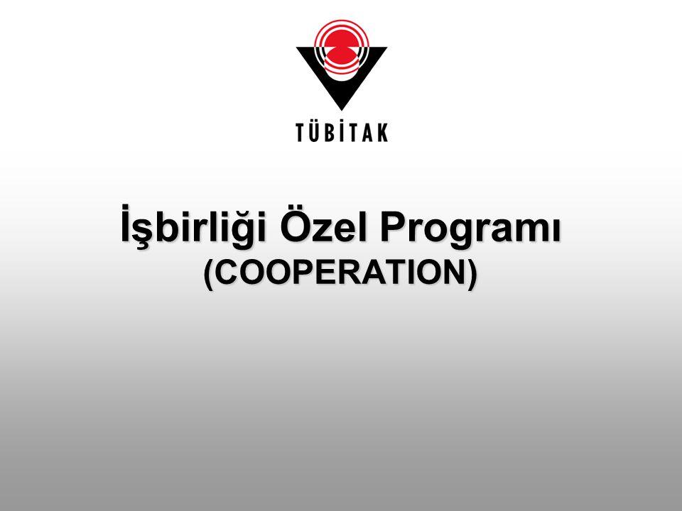 İşbirliği Özel Programı (COOPERATION)