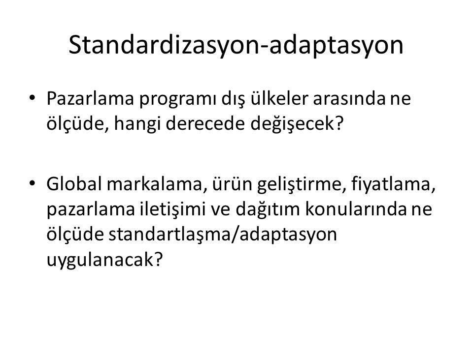 Standardizasyon-adaptasyon