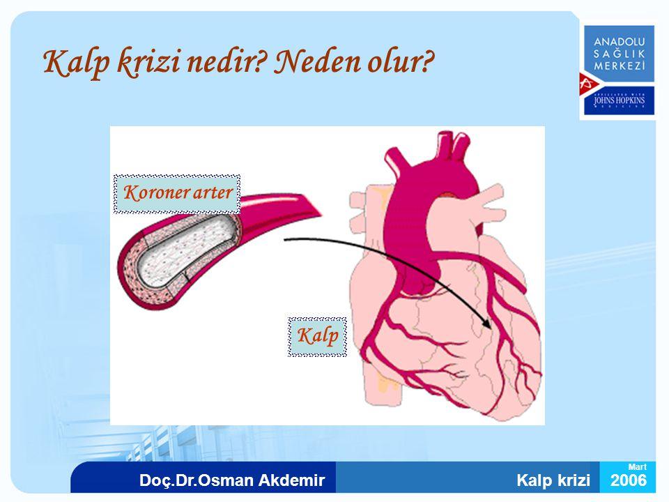 Kalp krizi nedir Neden olur