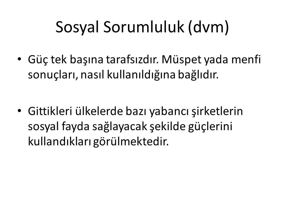 Sosyal Sorumluluk (dvm)