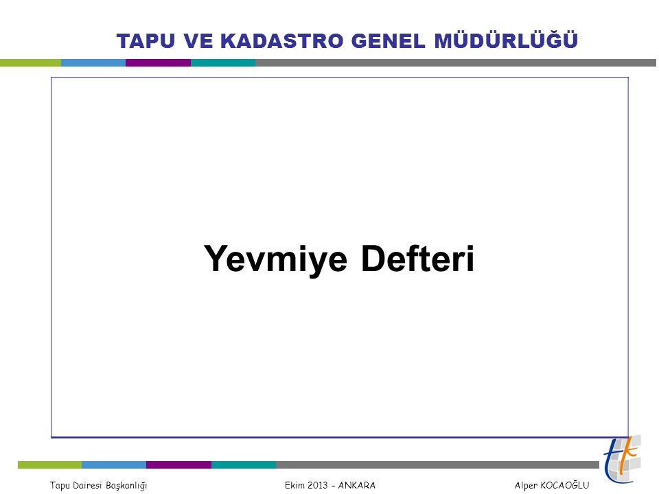 Yevmiye Defteri