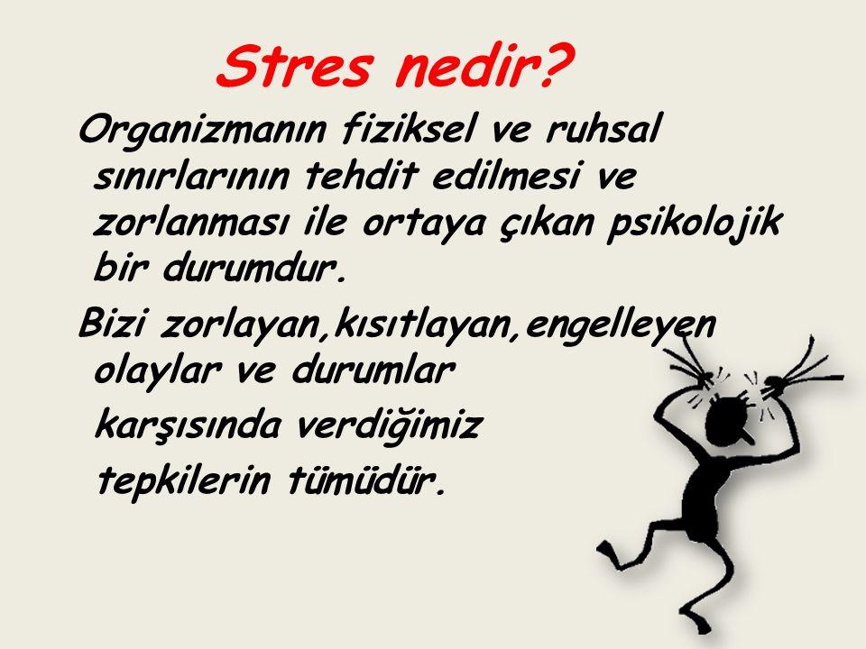 Stres nedir