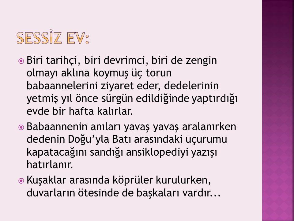 SESSİZ EV: