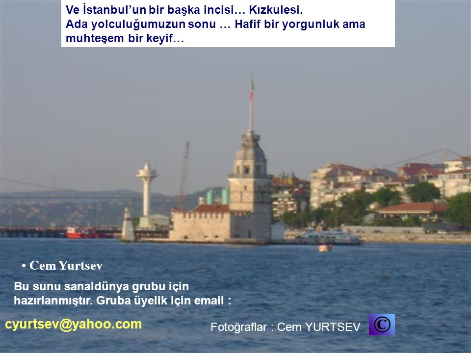 Cem Yurtsev cyurtsev@yahoo.com