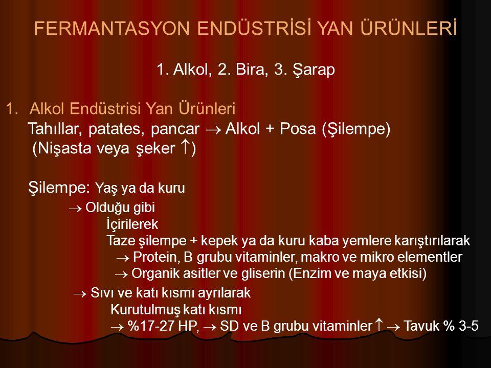 FERMANTASYON ENDÜSTRİSİ YAN ÜRÜNLERİ