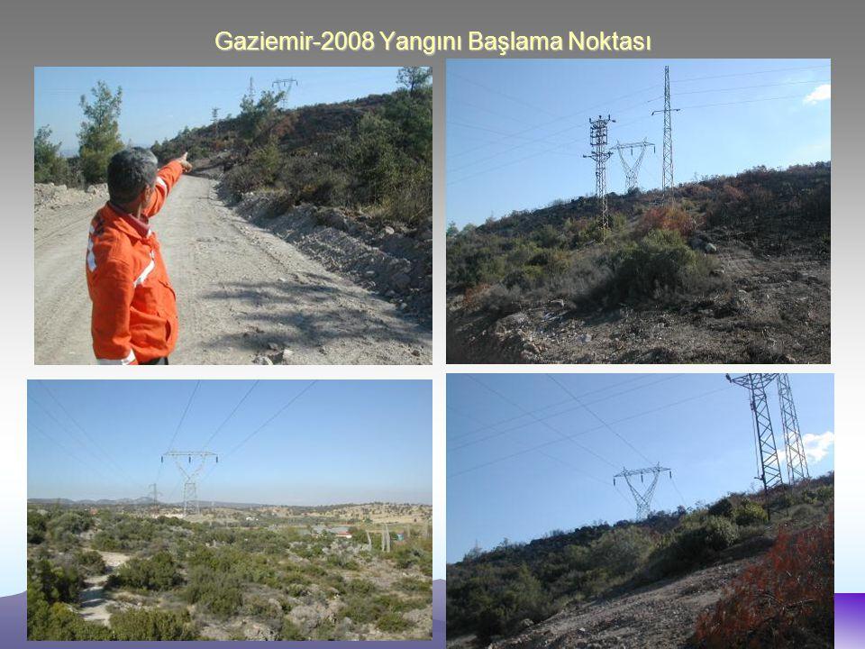 Gaziemir-2008 Yangını Başlama Noktası