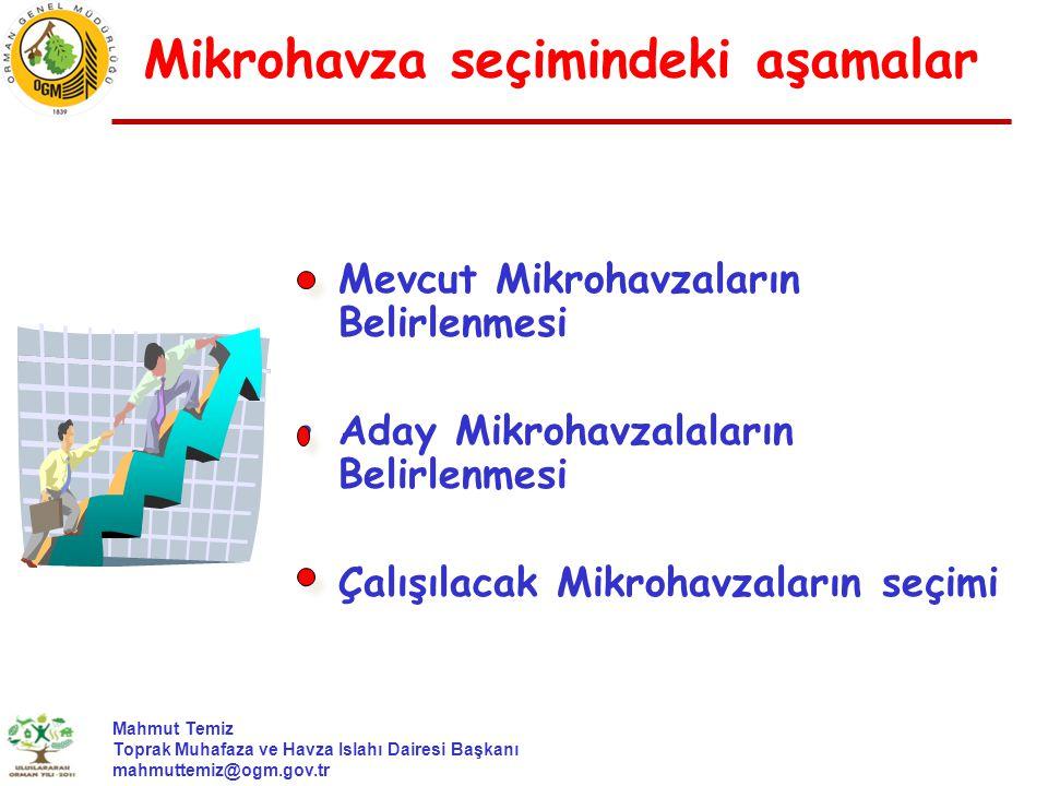Mikrohavza seçimindeki aşamalar