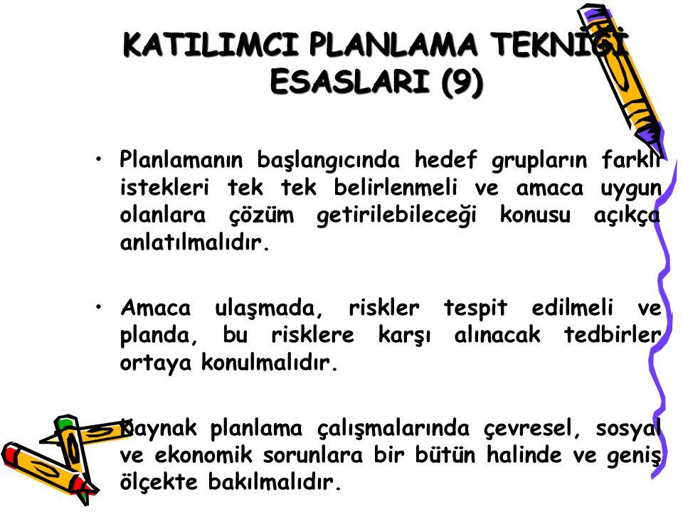 KATILIMCI PLANLAMA TEKNİĞİ ESASLARI (9)