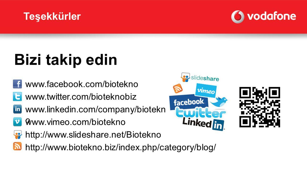 Bizi takip edin Teşekkürler www.facebook.com/biotekno