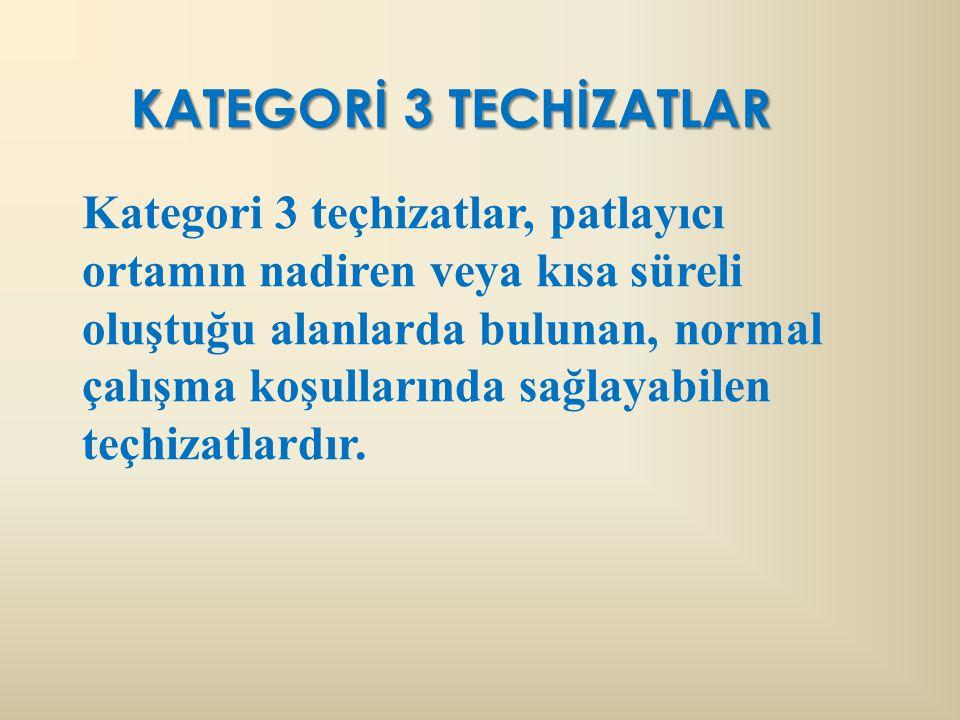 KATEGORİ 3 TECHİZATLAR