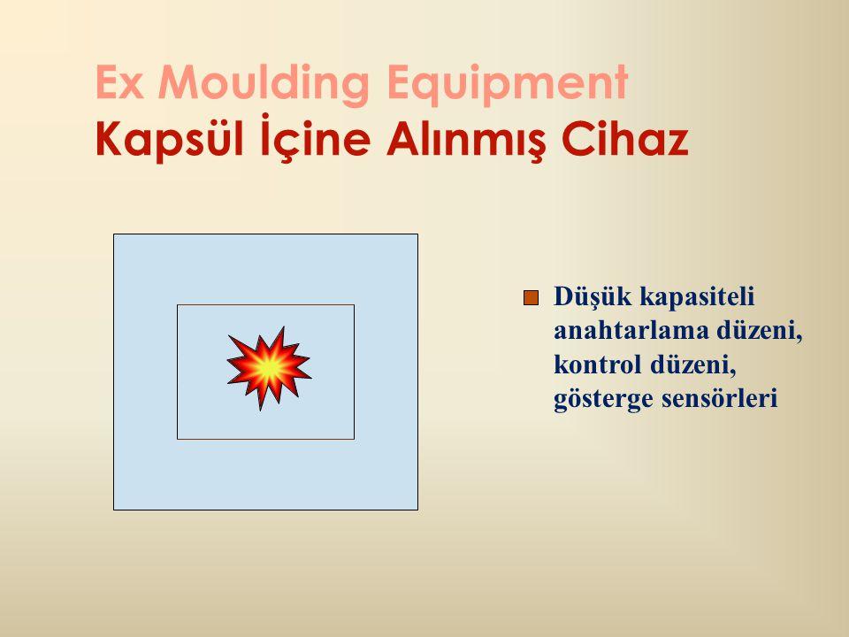 Ex Moulding Equipment Kapsül İçine Alınmış Cihaz
