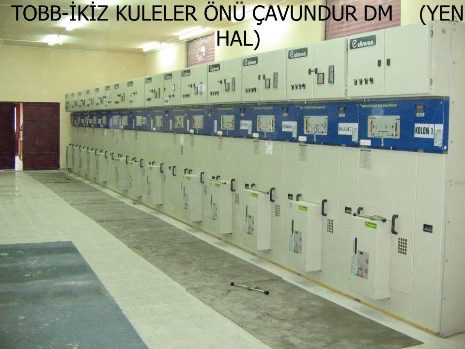 TOBB-İKİZ KULELER ÖNÜ ÇAVUNDUR DM (YENİ HAL)