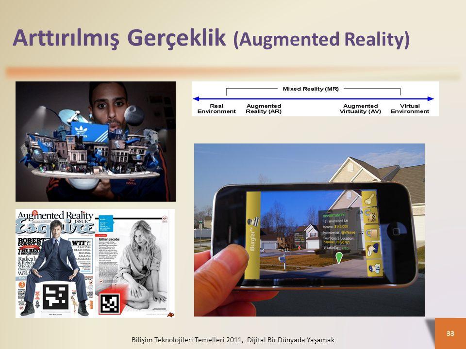 Arttırılmış Gerçeklik (Augmented Reality)