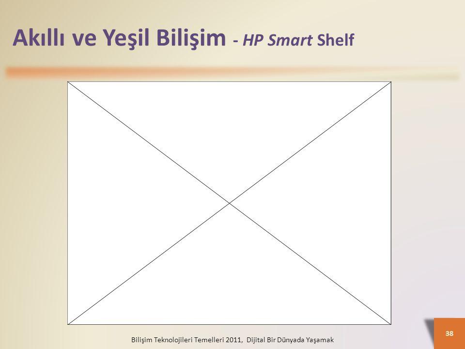 Akıllı ve Yeşil Bilişim - HP Smart Shelf
