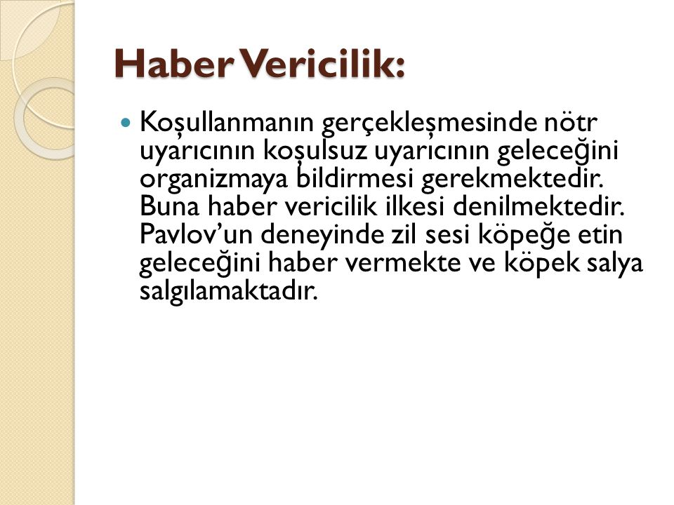 Haber Vericilik: