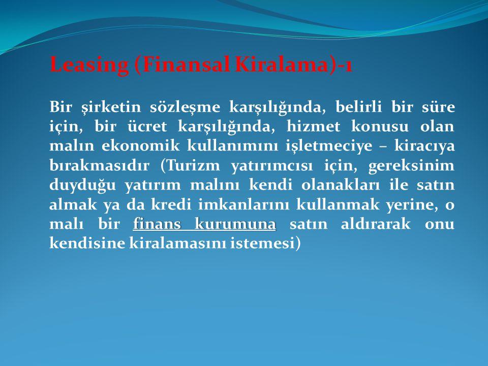 Leasing (Finansal Kiralama)-1