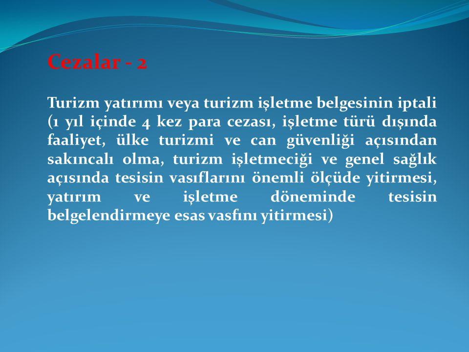 Cezalar - 2