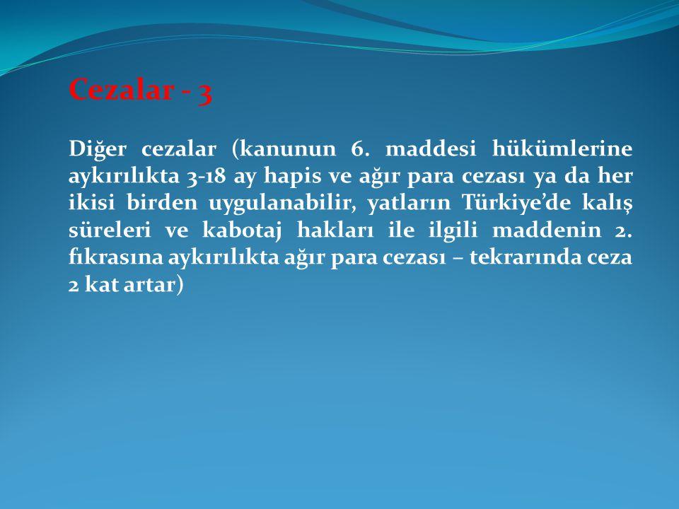 Cezalar - 3