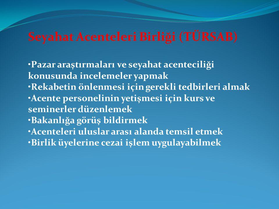 Seyahat Acenteleri Birliği (TÜRSAB)