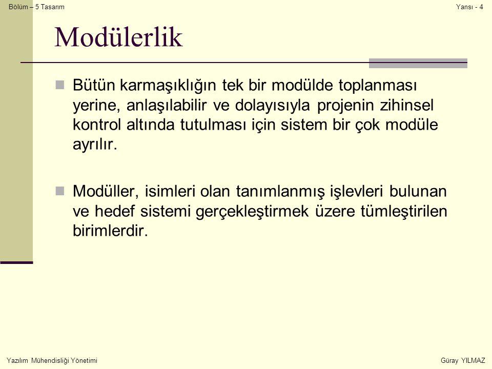Modülerlik