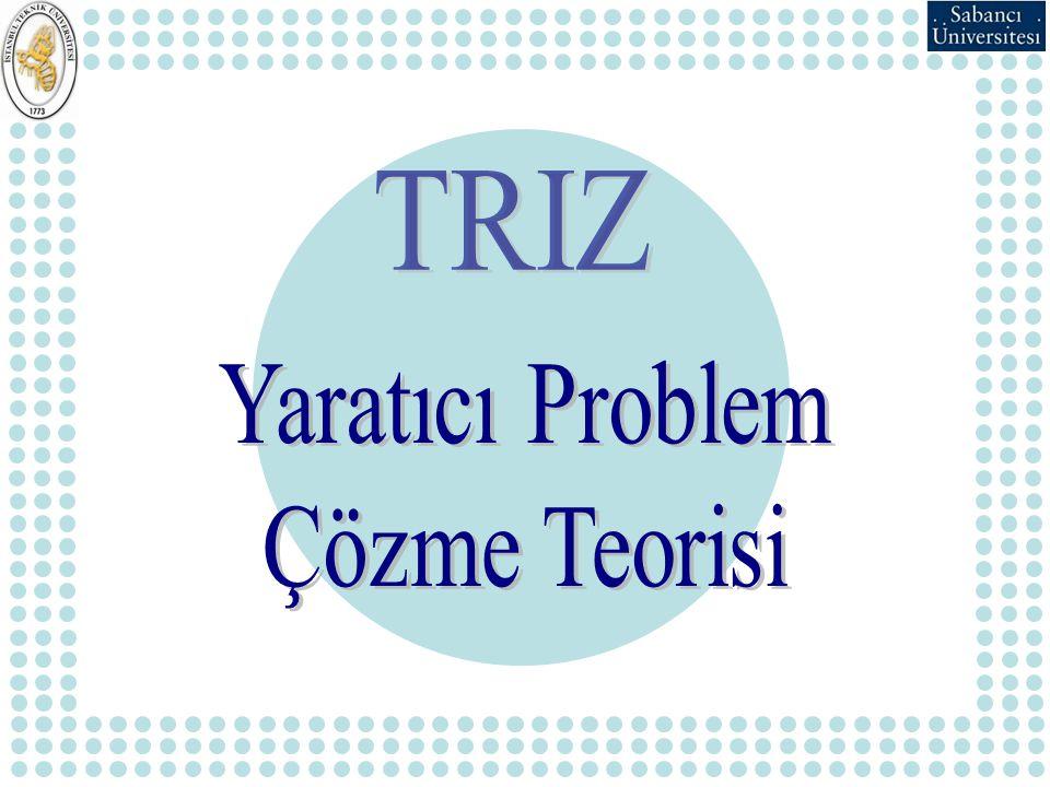 TRIZ Yaratıcı Problem Çözme Teorisi