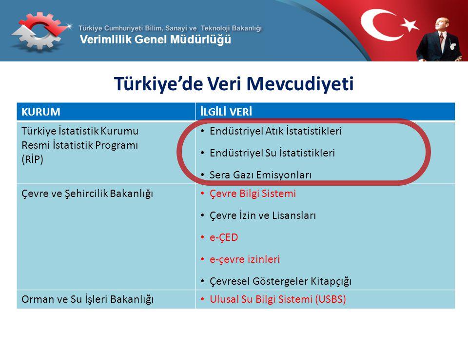 Türkiye'de Veri Mevcudiyeti