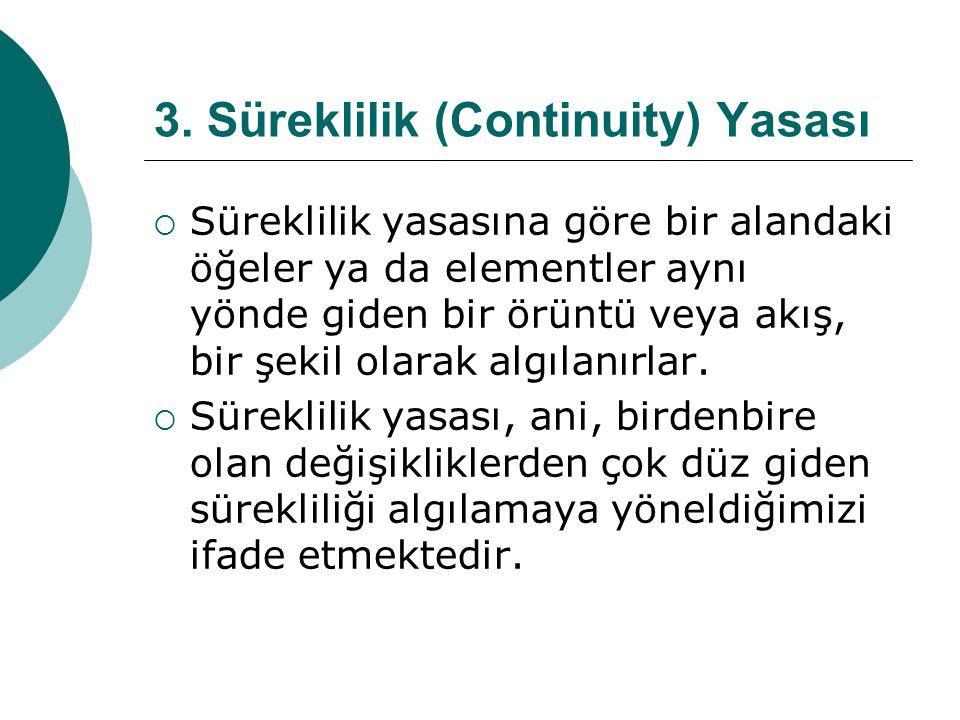3. Süreklilik (Continuity) Yasası