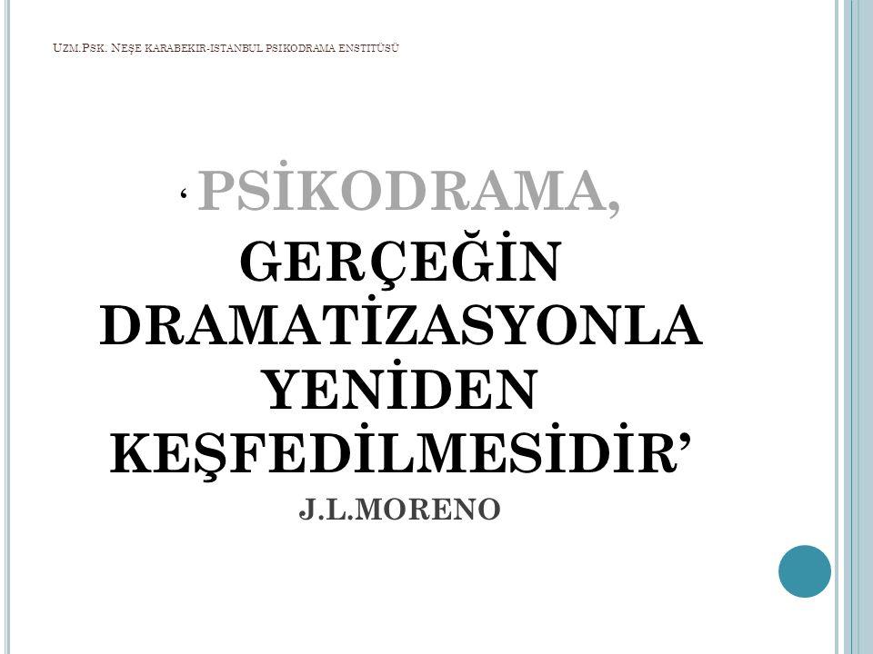 Uzm.Psk. Neşe karabekir-istanbul psikodrama enstitüsü