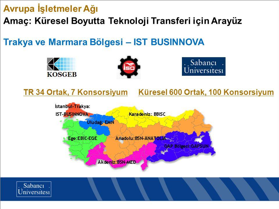 Amaç: Küresel Boyutta Teknoloji Transferi için Arayüz
