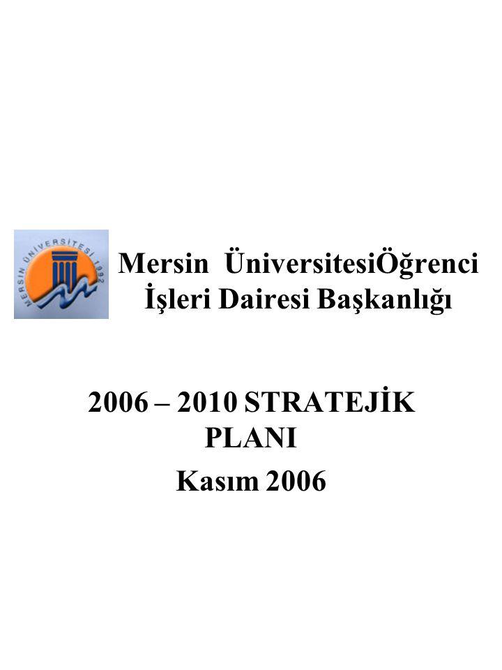 Mersin ÜniversitesiÖğrenci İşleri Dairesi Başkanlığı