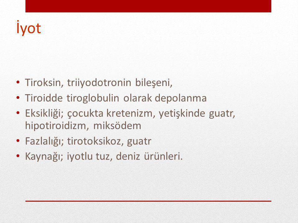 İyot Tiroksin, triiyodotronin bileşeni,