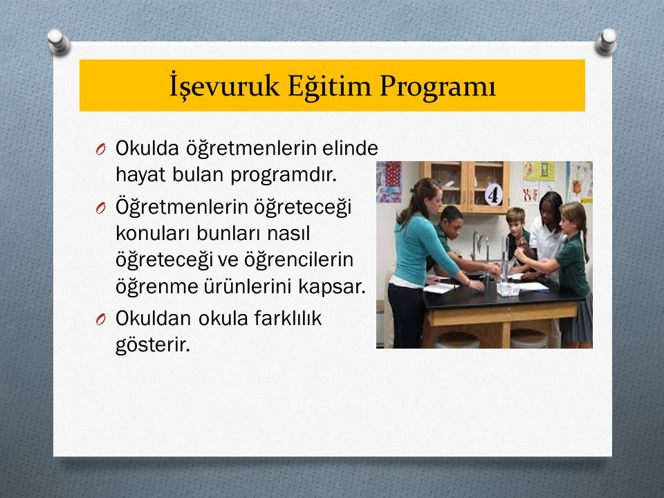 İşevuruk Eğitim Programı
