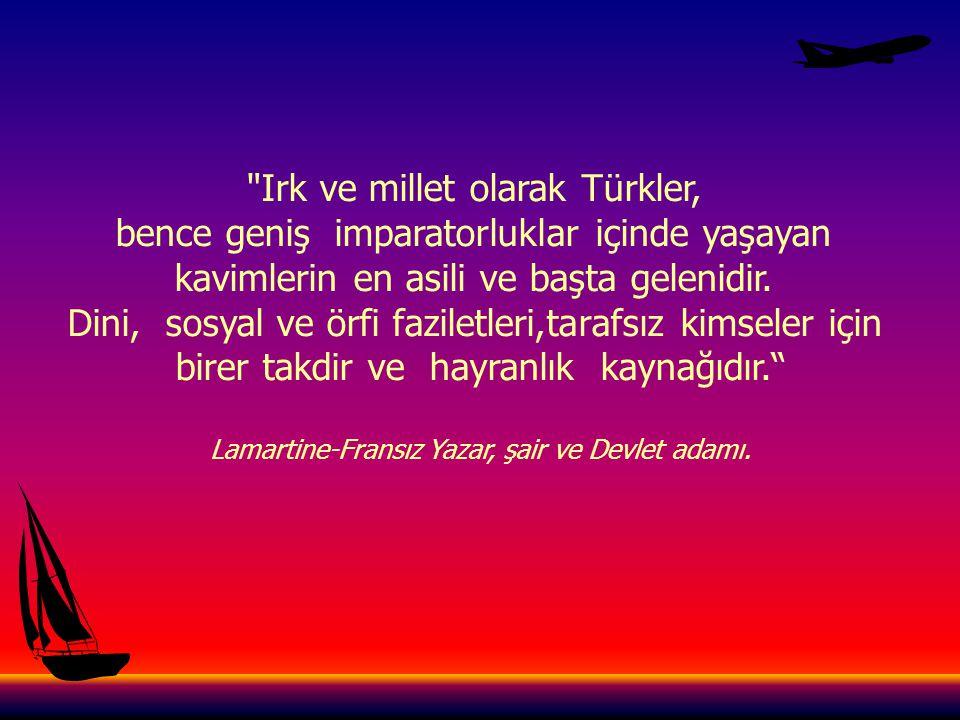 Irk ve millet olarak Türkler,