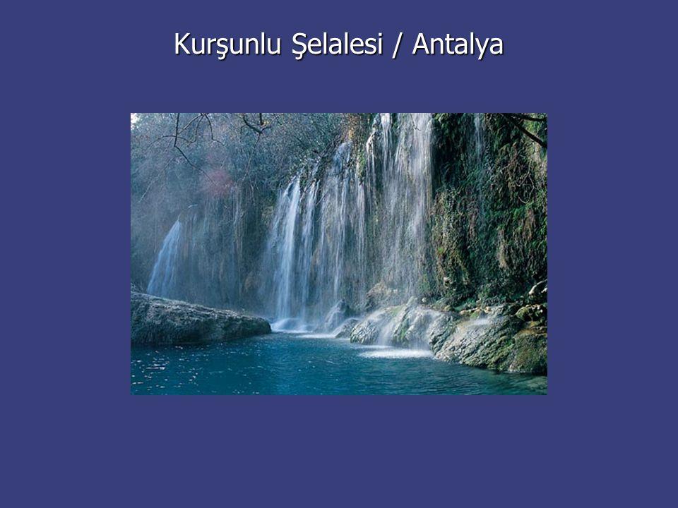 Kurşunlu Şelalesi / Antalya