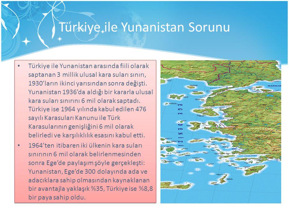 Türkiye ile Yunanistan Sorunu