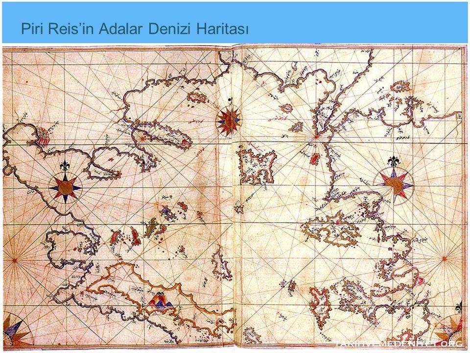 Piri Reis'in Adalar Denizi Haritası