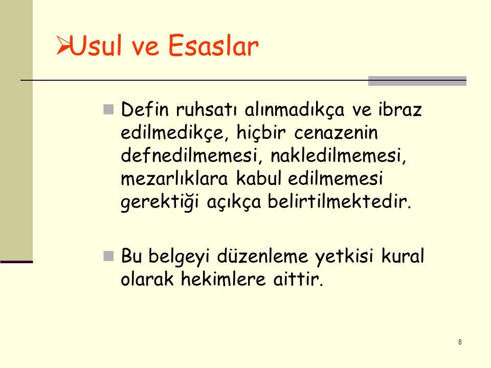 Usul ve Esaslar