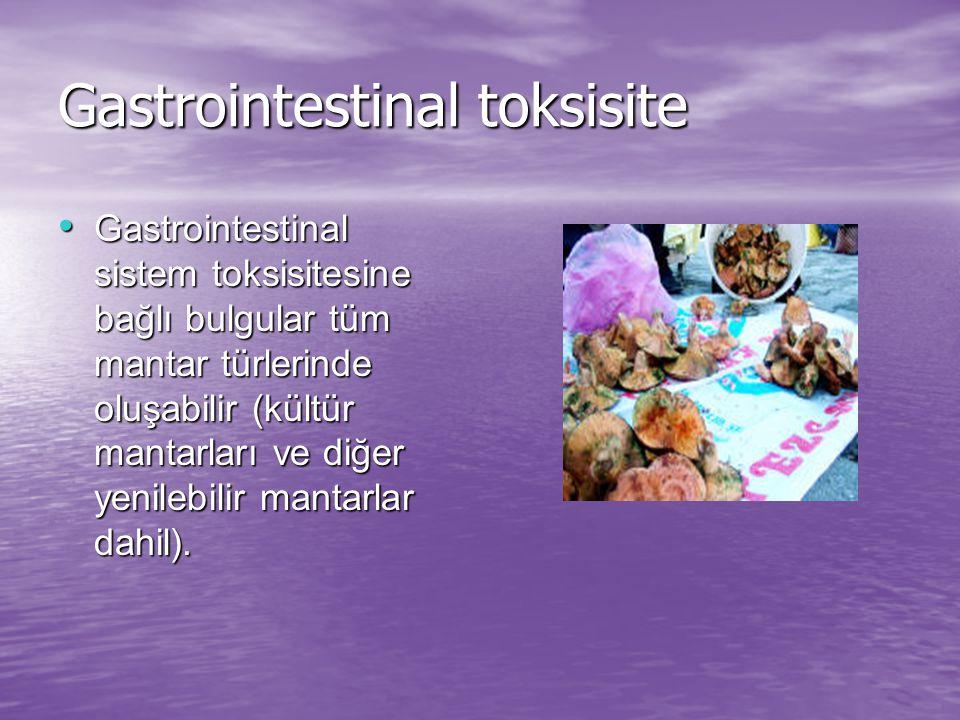 Gastrointestinal toksisite