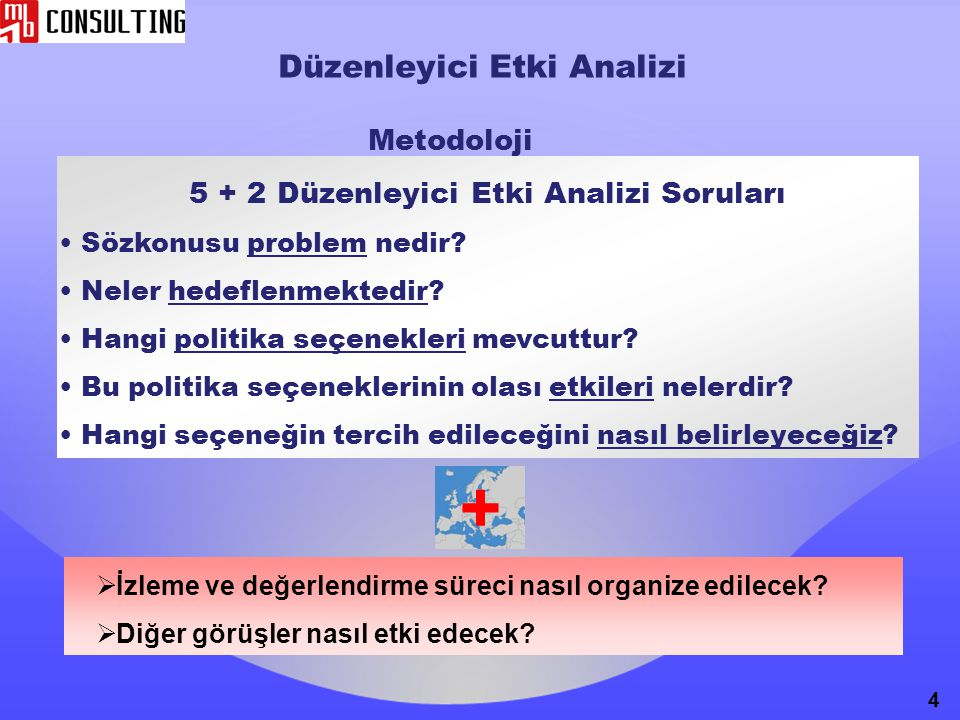 5 + 2 Düzenleyici Etki Analizi Soruları