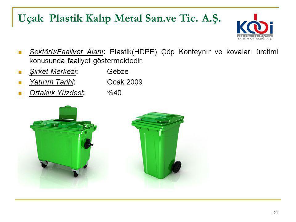 Uçak Plastik Kalıp Metal San.ve Tic. A.Ş.