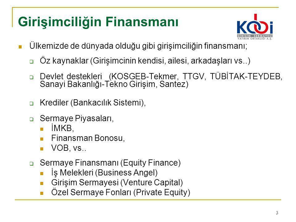 Girişimciliğin Finansmanı