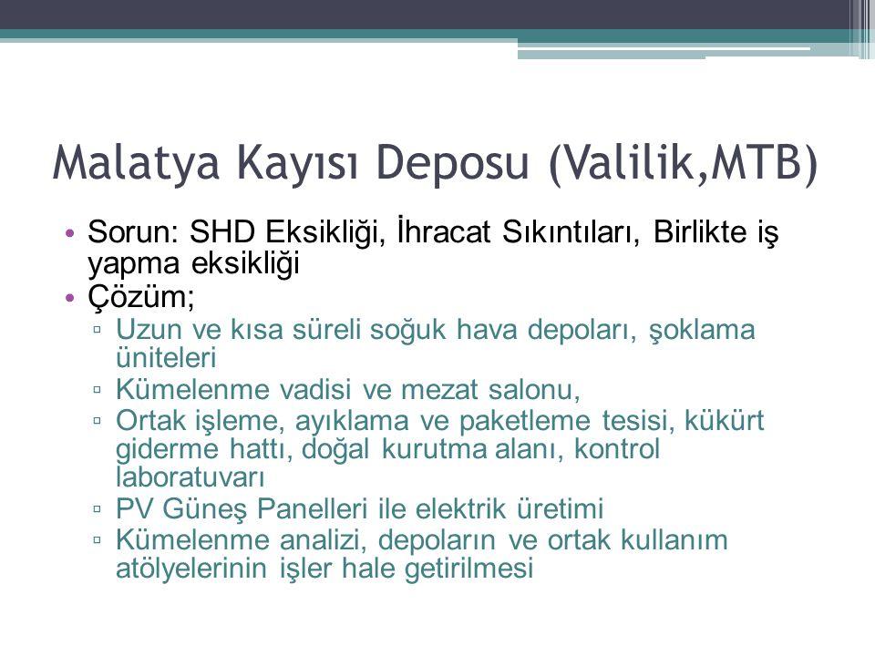 Malatya Kayısı Deposu (Valilik,MTB)
