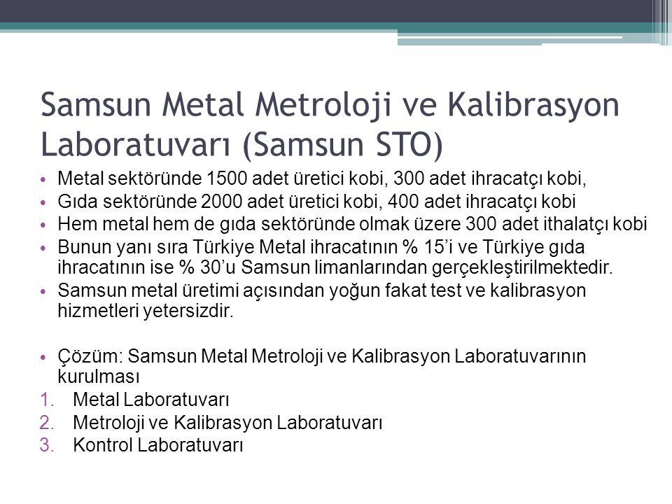 Samsun Metal Metroloji ve Kalibrasyon Laboratuvarı (Samsun STO)