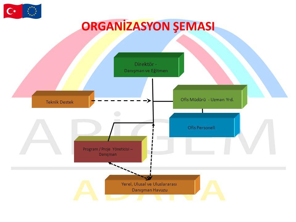 ORGANİZASYON ŞEMASI Direktör - Danışman ve Eğitmen