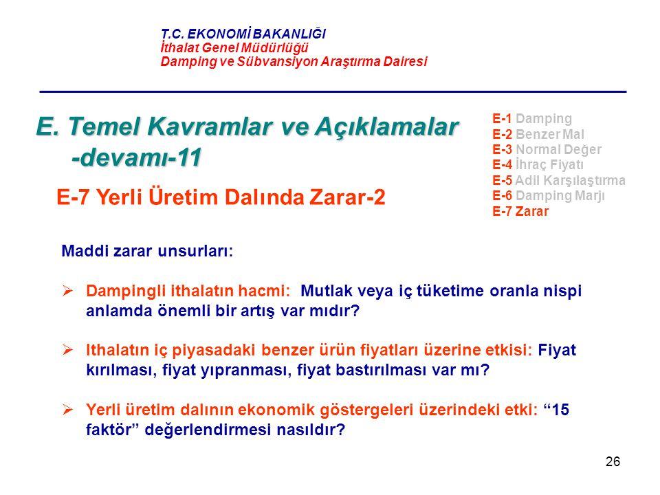 E. Temel Kavramlar ve Açıklamalar -devamı-11