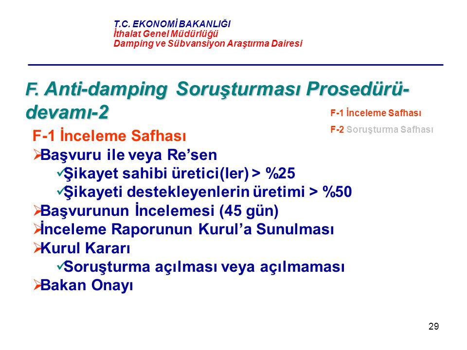 F. Anti-damping Soruşturması Prosedürü-devamı-2