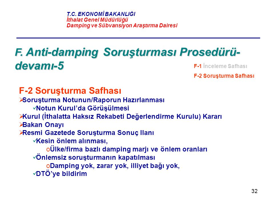 F. Anti-damping Soruşturması Prosedürü-devamı-5